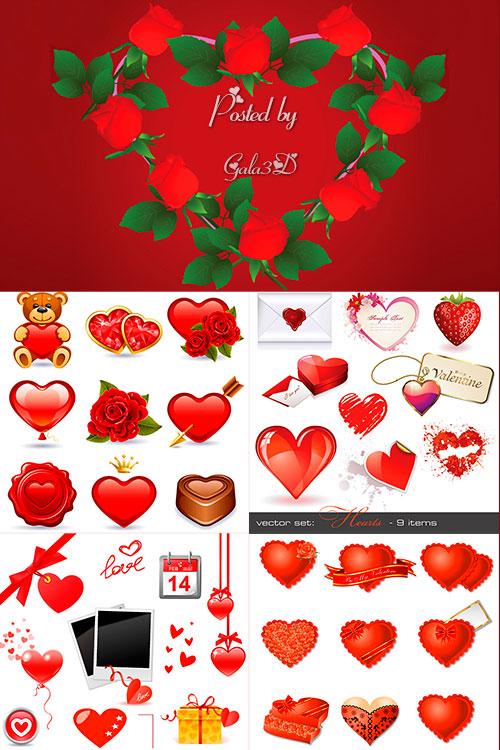 День святого Валентина - векторый клипарт