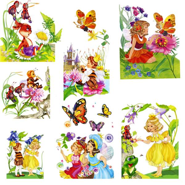 Клипарт - Детские иллюстрации Ю.Щетинкиной
