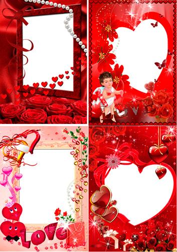 Рамочки для фотошопа - Для любимой женщины