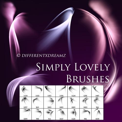Кисти для фотошопа - Simply Lovely