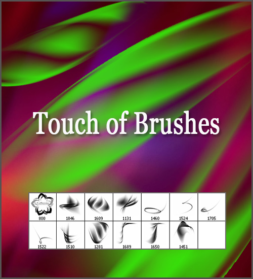 Кисти для фотошопа Touch of Brushes
