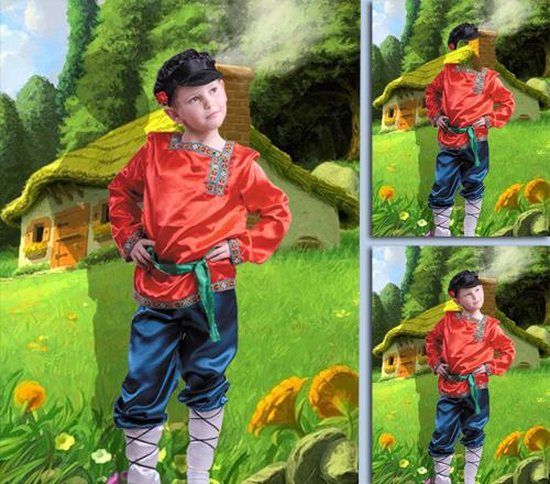 Детский шаблон - Иван