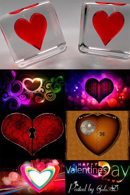 Обои - фоны - День Святого Валентина