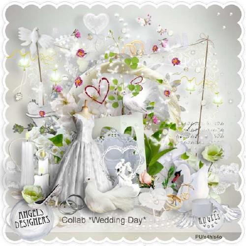 Свадебный скрап-набор - Свадебный день