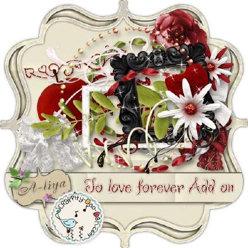 Романтический скрап-набор - Любовь навеки