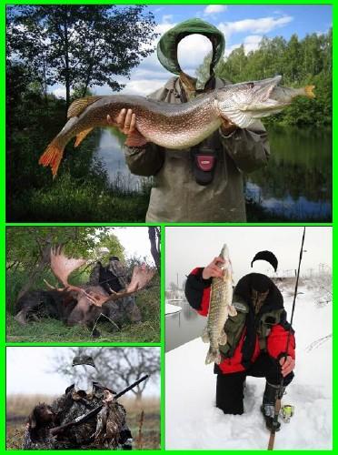 шаблон на тему рыбалка