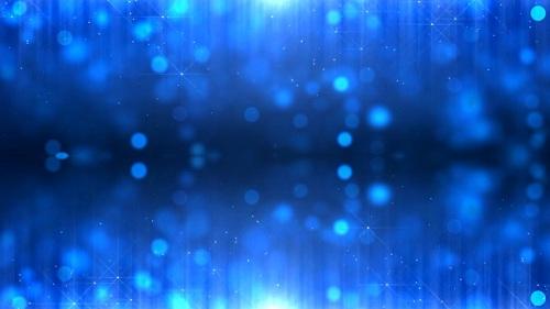 Футаж Размытие светового фона (голубой)
