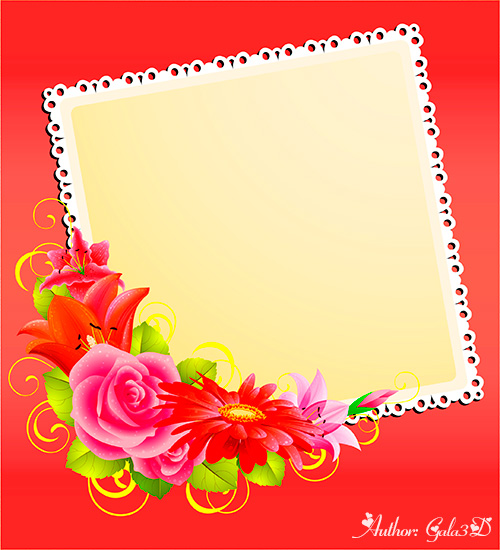 Романтические открытки