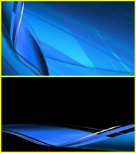 Футаж голубая лента (alpha)