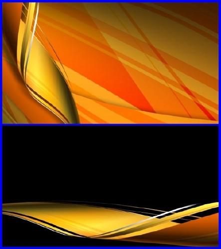 Футаж  золотая лента (alpha)