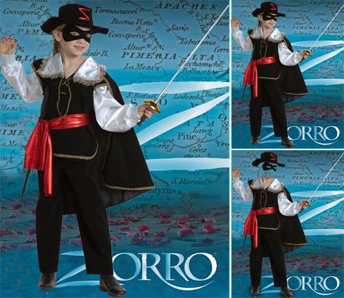 Детский шаблон - Zorro