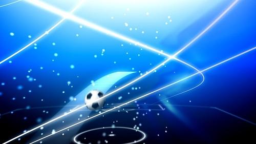 HD фон на футбольную тему