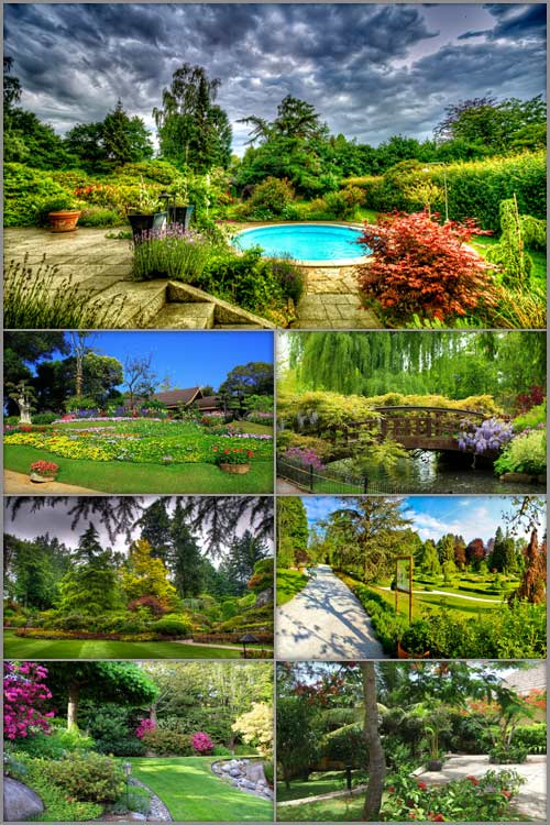 Обои - Парки и сады