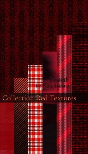 Текстуры – Красный узор