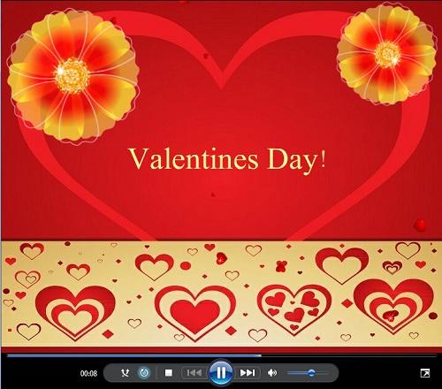 Праздничный футаж - День Святого Валентина