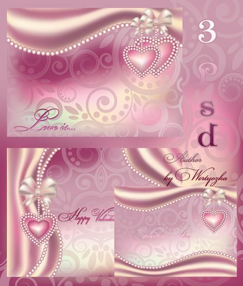 Psd исходник на день влюбленных в розовых тонах - Нежность, любовь, романти ...