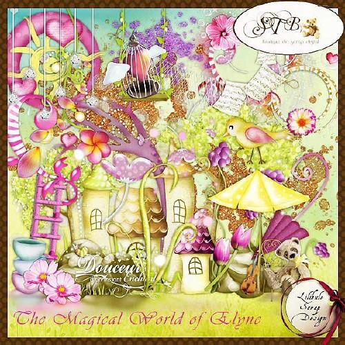 Детский сказочный скрап-набор - Сказочный мир Элейн