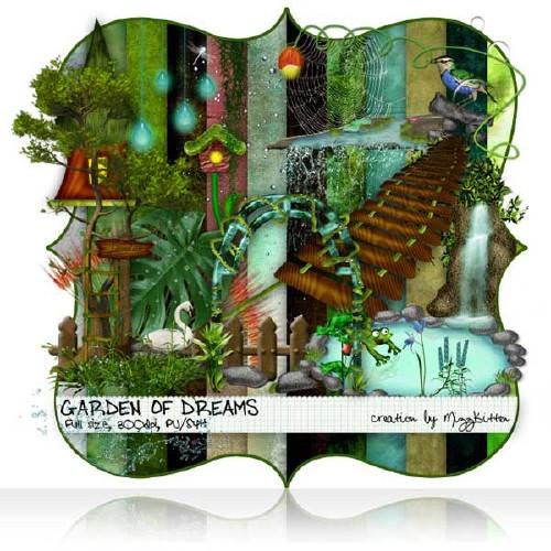 Сказочный скрап-набор - Сад мечтаний