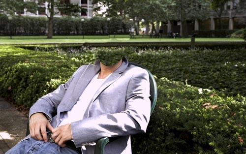 Шаблон для фотошопа - отдых богатого мужчины