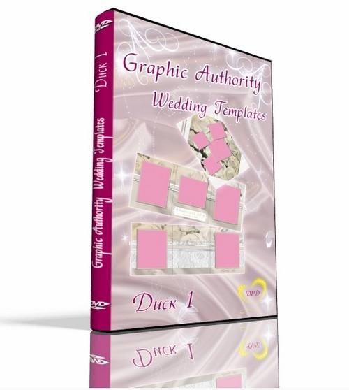 Graphic Authority: Wedding Templates Vol.2 - 1 DVD.