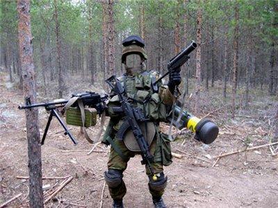 Мужской шаблон - солдату всё под силу