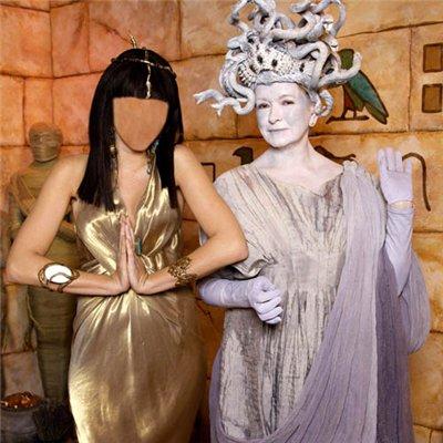 Женский шаблон - Клеопатра и Горгона