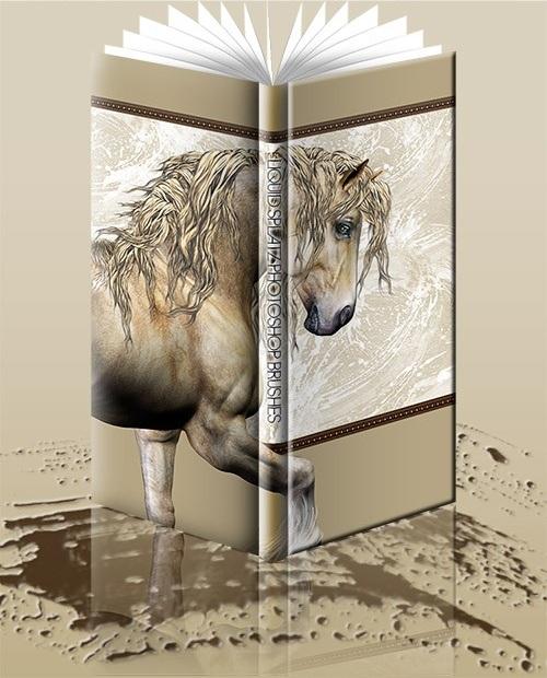 Кисти для фотошопа - Жидкий сплав