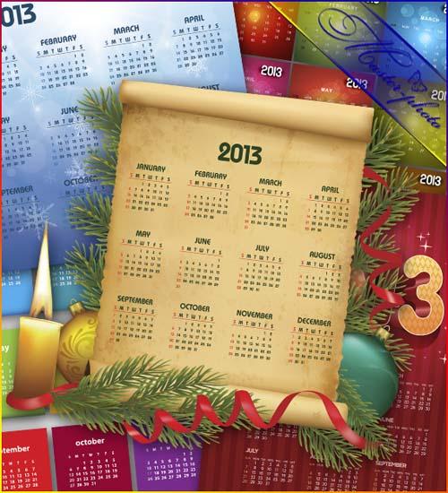 Набор календарей на 2013 год