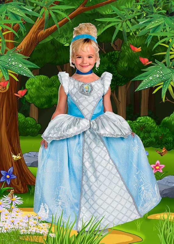 Детский фотошаблон - В сказочном лесу