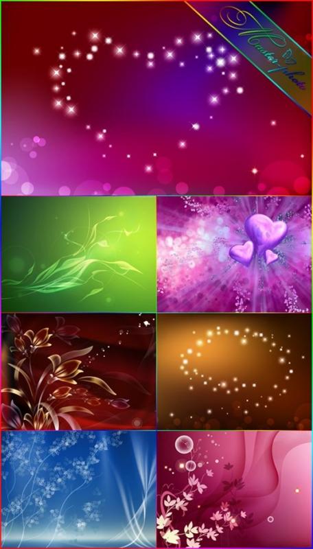 Романтические фоны для вашего творчества