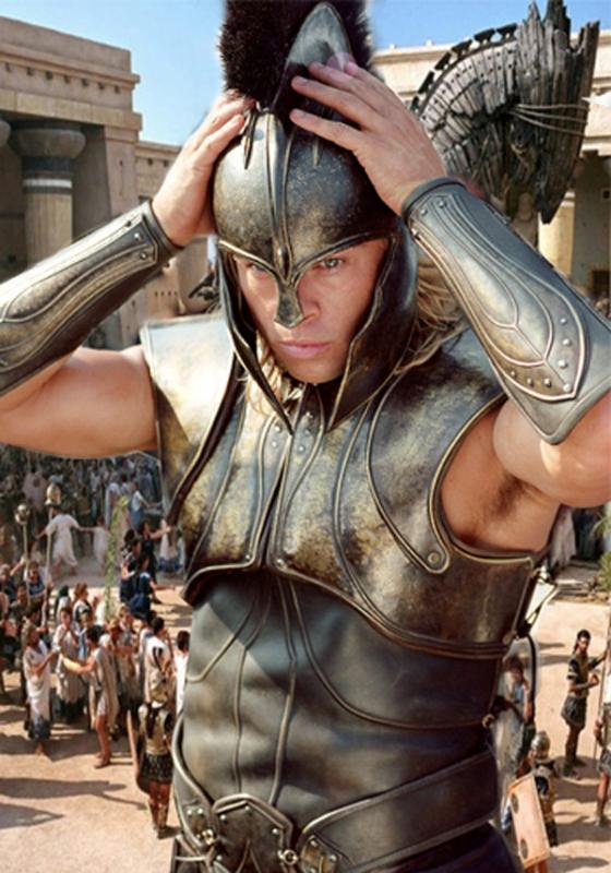 Шаблон мужской - Греческий герой