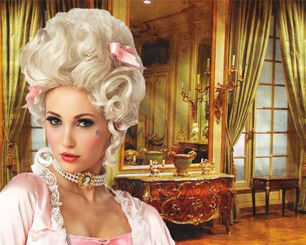 Шаблон женский - Мадам Помпадур