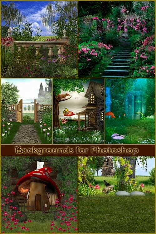 Фоны для фотошопа - Волшебная фантазия 3