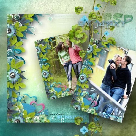 Фоторамка - Весенние чувства