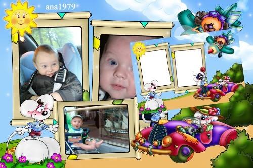 Рамка для фотошопа - Наш ребёнок