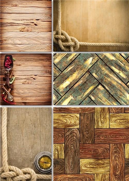 Текстуры - Дерево и канаты