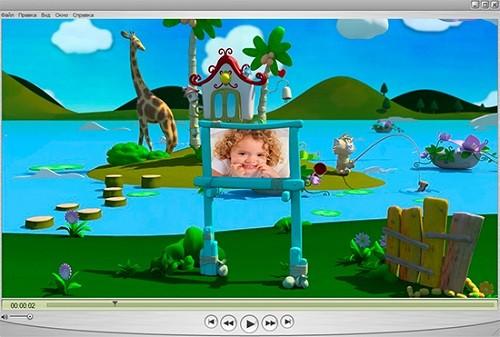 Детский 3D альбом — Детская сказка