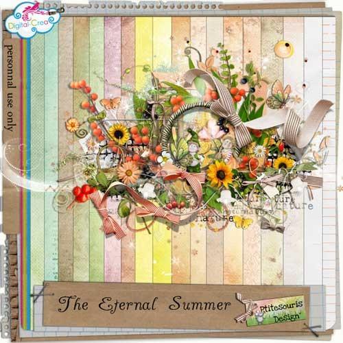 Цветочный скрап-набор - Вечное лето