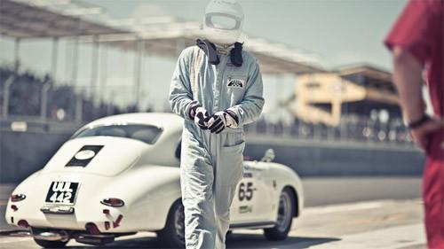 Шаблон для мужчин - профессиональный гонщик