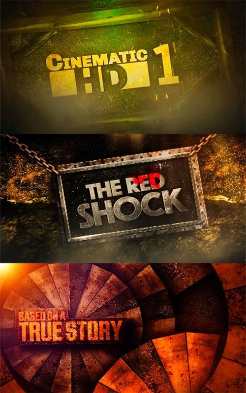 Проекты After Effects для оглавления видео