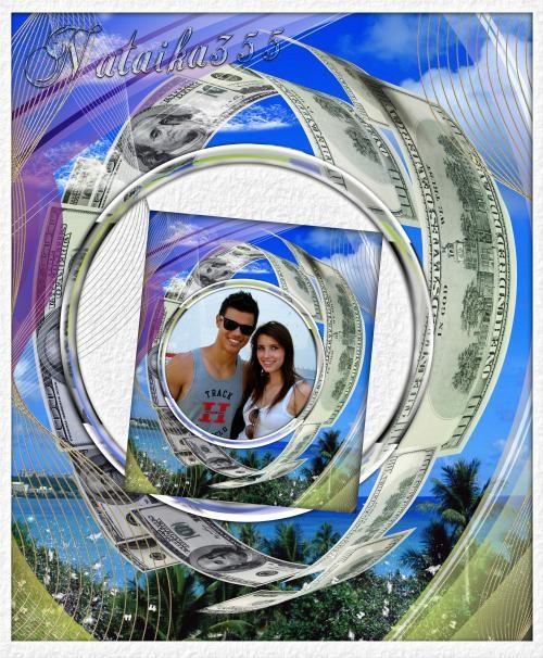 Рамка для фото - Деньги в моем мире