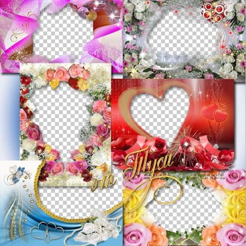 Коллекция рамок – Цветы нам дарят настроение