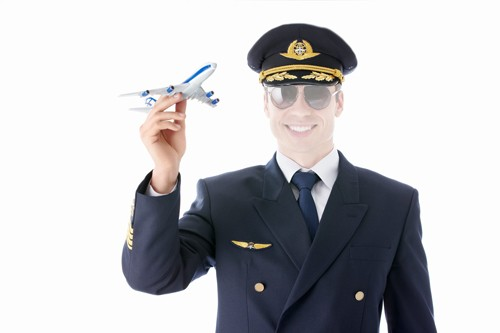 Шаблон для парней - Самолет в руках