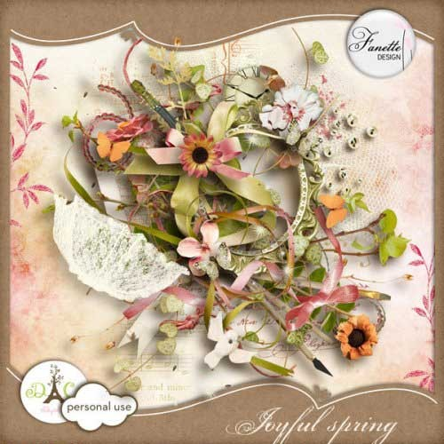 Весенний скрап-набор - Весенняя радость