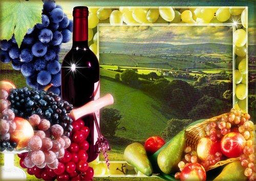 Фоторамка Виноградное настроение