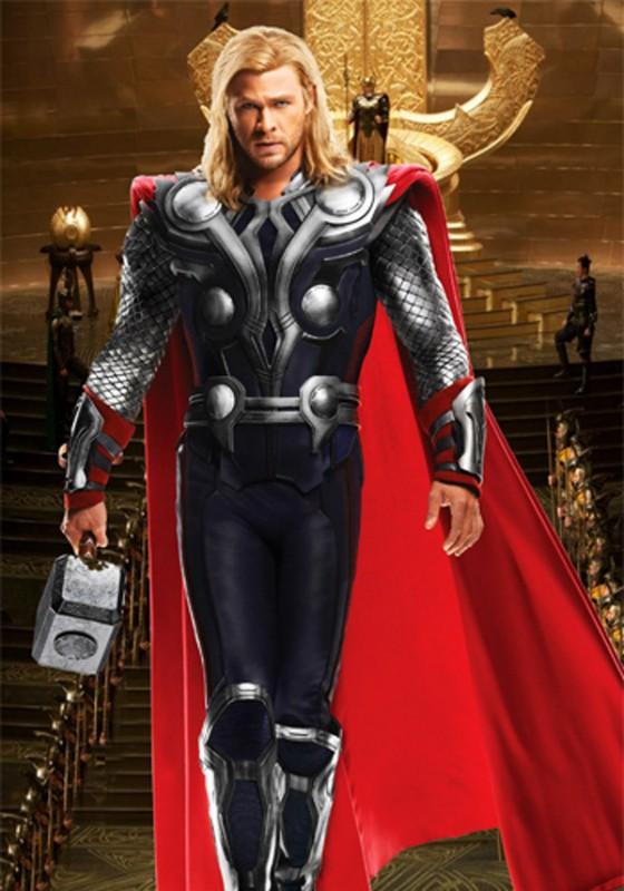 Шаблон мужской - Верховный бог Тор