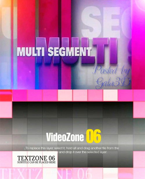 After Effects проекты - Behind the Bar и Telling Tiles