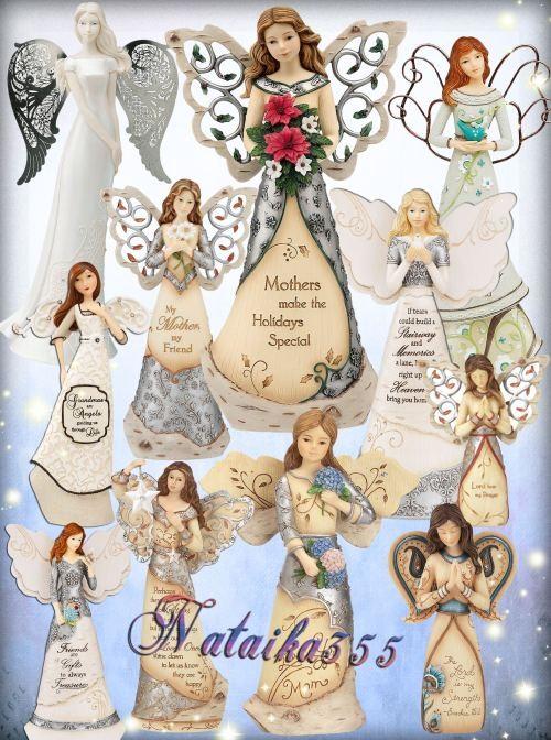 Клипарт на прозрачном фоне - Ангел матери