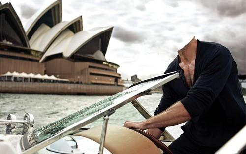 Шаблон для фотомонтажа - Первоклассный отдых в Сидней