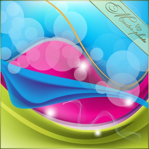 Сказочный многослойный фон для фотошопа с боке
